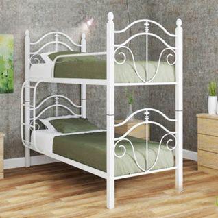 Двухъярусная кровать Диана на деревянных ногах