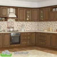 Кухня Гранд Дуб Золотой 1 метр погонный