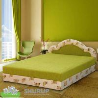 Мягкая кровать Ромашка 140