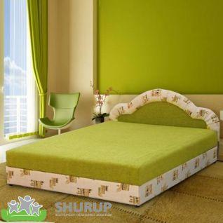Мягкая кровать Ромашка 160