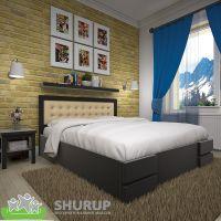 Кровать Кармен Сосна