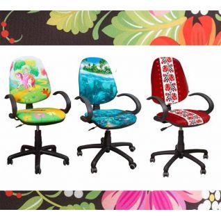Кресла с рисунками и принтами