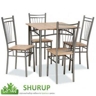 Обеденные группы (стол + стулья)