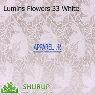 Ткань Lumins Flowers рогожка