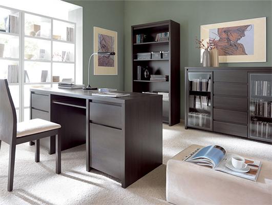 Шкаф для книг Каспиан REG90BRW
